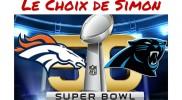 Le Choix de Simon : Super Bowl 50