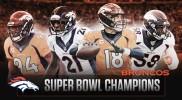 Les Broncos Champions Super Bowl 50