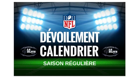Calendrier Nfl 2021 Calendrier NFL 2020 2021 dévoilé
